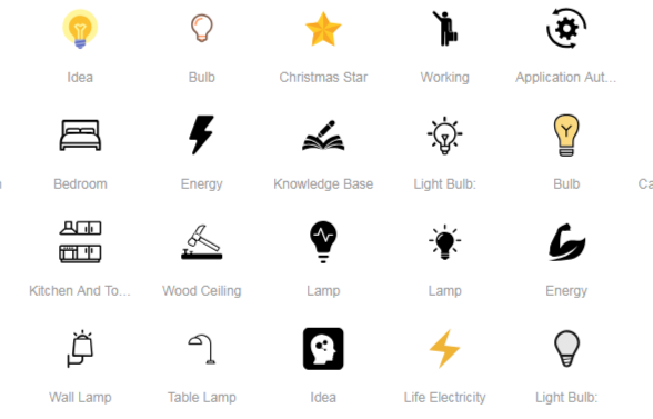 2,000+ Lamp Icons » Similar Icons